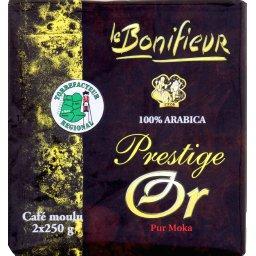 Prestige Or, café moulu pur Arabica