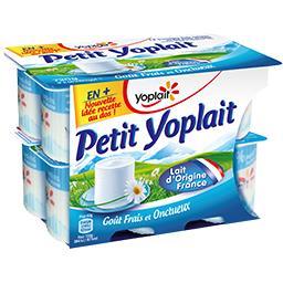 Petit Yoplait - Fromage frais nature 3,8% MG/VG