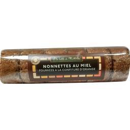 La table de mathilde Nonnettes au miel fourrées à la confiture d'orange Le sachet de 200gr