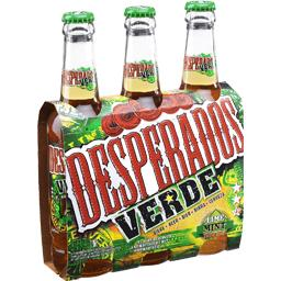 Bière aromatisée Verde, tequila/menthe/citron vert