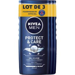 Nivea Men Gel douche Energy, visage & cheveux