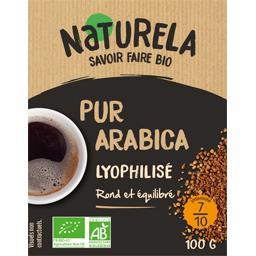 Café lyophilisé pur arabica BIO