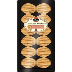 Madeleines apéritives saumon épinards