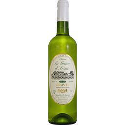 Graves vin blanc 2012 château la grave d'arzac