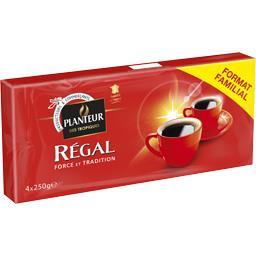 Régal, café moulu