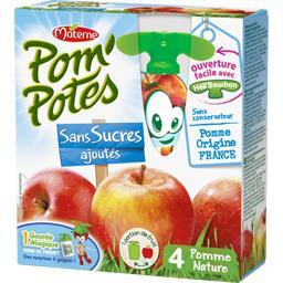 Pom'Potes - Spécialité de fruits pomme sans sucres a...