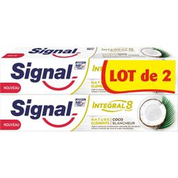 Integral 8 - Dentifrice Nature Eléments coco blanche...