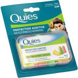 Quies Protections auditives fluo en mousse 35dB