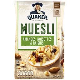 Golden - Muesli amandes, noisettes et raisins