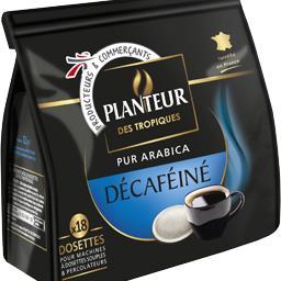 Café dosettes pur arabica Décaféiné