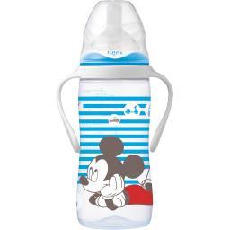 Disney Baby - Biberon 300 ml tétine base large, +6 m