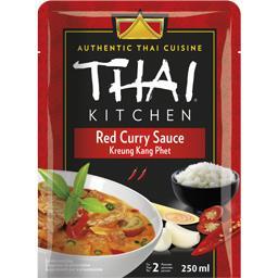 Thaï Kitchen Sauce curry rouge le pot de 250 ml