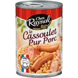 Le Cassoulet pur porc