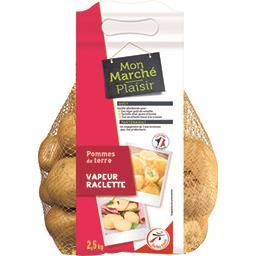 Pommes de terre vapeur/raclette