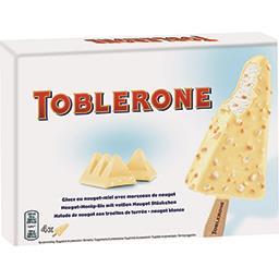 Toblerone Bâtonnets de glace nougat avec morceaux