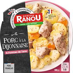 Porc à la Dijonnaise et ses pommes de terre