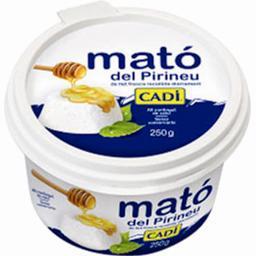 Mato del Pirineu, spécialité laitière sans sel