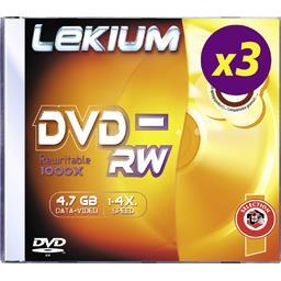 DVD-RW 4,7GB 4X JEWEL