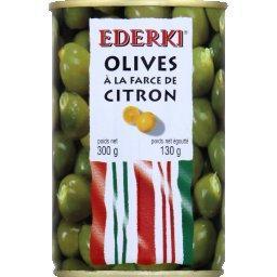 Olives à la farce de citron