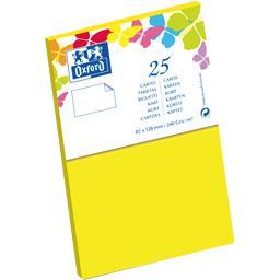 Carte de visite 82x128 240 g jaune