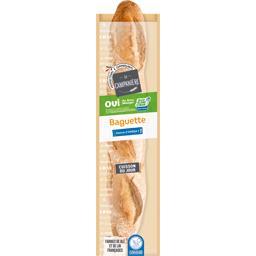 Baguette de pain label Bleu Blanc Coeur