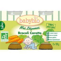Mes légumes BIO,  brocolis et carottes ,cuisson vapeur