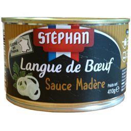 Langue de bœuf sauce madère