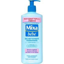 Eau nettoyante hydratante sans rincer bébés/adultes