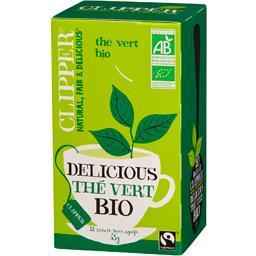 Thé vert Delicious bio