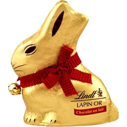Lindt Lapin or chocolat au lait