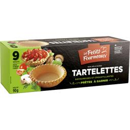 Tartelettes prêtes à garnir