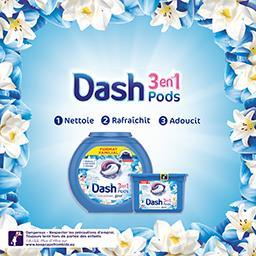 3en1 - pods - fleurs de lotus - lessive en capsules ...