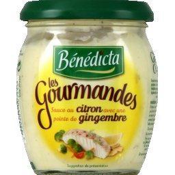Sauce Les Gourmandes au citron et gingembre