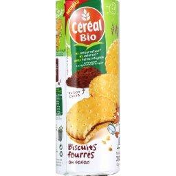 Biscuits fourrés au cacao BIO, BioKid