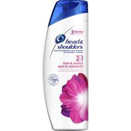 2 en 1 - lisse et soyeux - shampooing antipelliculai...