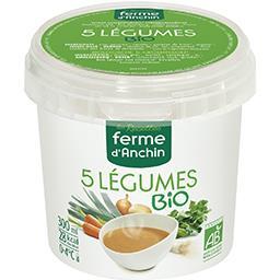 Soupe 5 légumes BIO