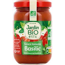 Sauce tomate basilic BIO