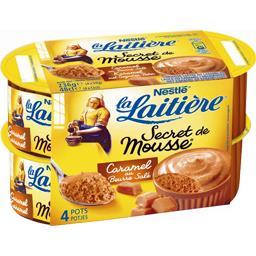 Secret de Mousse - Mousse caramel au beurre salé