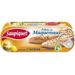 Filets de maquereaux moutarde à l'ancienne et au cit...