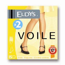 Collants voile gris T3