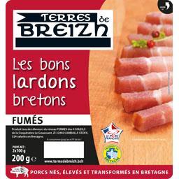 Les Bons Lardons bretons fumés