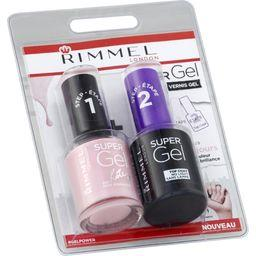 Super Gel - Vernis gel New Romantic & Top Coat 021