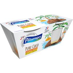 Dessert pure coco mangue passion
