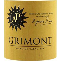 Vin Blanc de Caractère cuvée Grimont, vin blanc