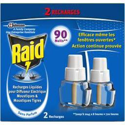 Recharge diffuseur électrique liquide moustiques 90 ...