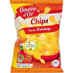 Chips saveur ketchup
