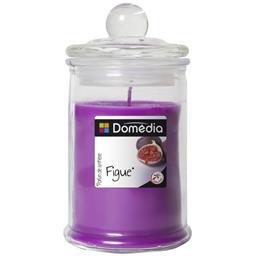 Bonbonnière remplie de cire colorée parfumée violet/...