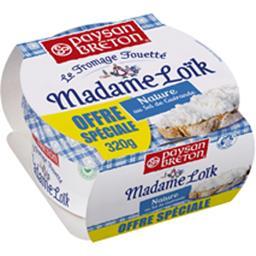 Madame Loïc, Le Fromage fouetté nature au sel de Guérande