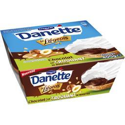 Danette - Crème dessert Le Liégeois chocolat lit cro...