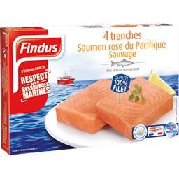 Saumon rose du Pacifique sauvage